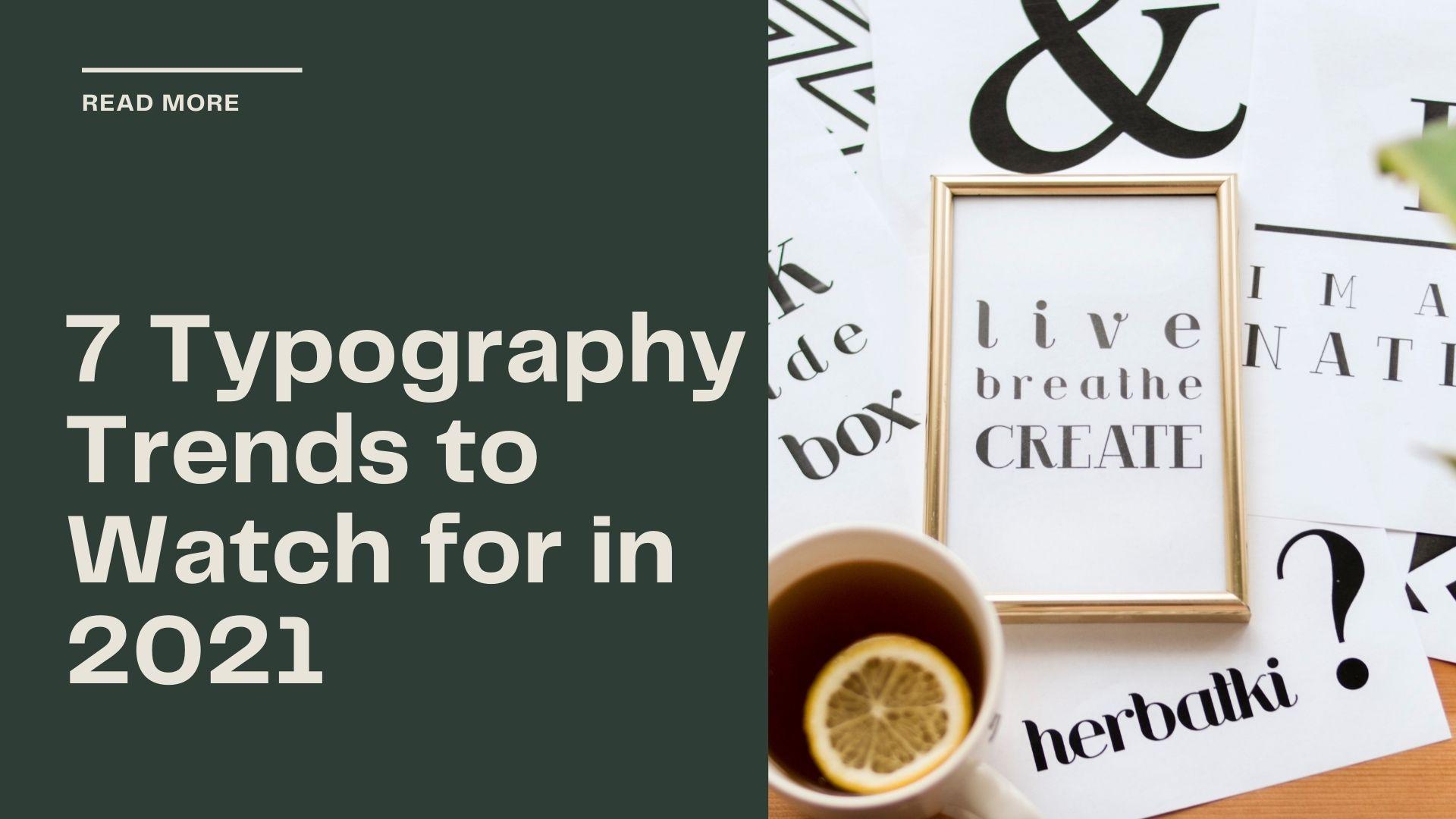 Typography Trends 1